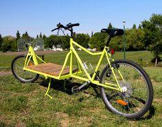 Rod's home made cargo bike