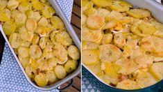 Máme pro vás recept na zapečené francouzské brambory podle Romana Vaňka s menší úpravou! No Salt Recipes, Shrimp, Fresh, Meat, Salt Free Recipes