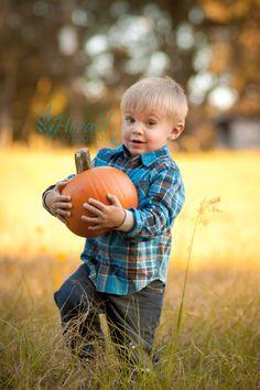 Child Portrait: Fall Photo: 2 year Photo: Herald Photography: Great Falls, MT Photographer