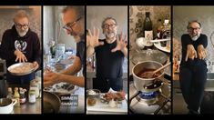 Michelin-starred chef Massimo Bottura has found a new way to delight his fans: by streaming his family meals on Instagram - Kitchen Quarantine. Fun Drinks, Family Meals, Fans, Kitchen, Instagram, Cooking, Home Kitchens, Followers, Kitchens