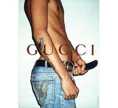 JR Gallison par Terry Richardson pour la campagne Gucci automne-hiver 2001