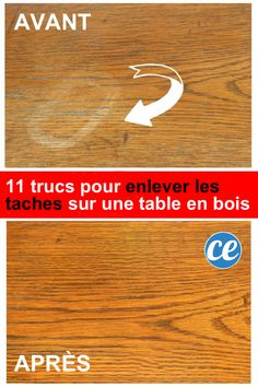Do you have a wooden table? 11 Miracle Tips To Remove All Stains. Diy Gifts Cheap, Tips & Tricks, Christmas Wood, Paint Furniture, Home Hacks, Wooden Tables, Clean House, Happy Life, Cleaning Hacks