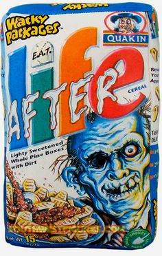 Wacky Packages Zombie Walk, Zombie Girl, Funny Horror, Horror Art, Horror Icons, Scary Movies, Horror Movies, Cereal Killer, We Will Rock You