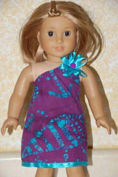 American Girl Doll Summer Dress by SewHappy4You on Etsy, $12.00