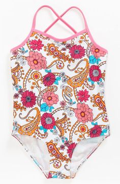 Tucker + Tate One Piece Swimsuit (Little Girls & Big Girls) available at #Nordstrom