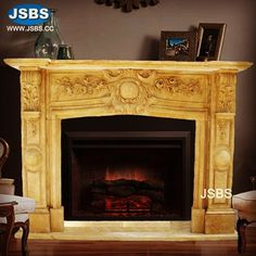 Marble Fireplace Mantel www.jsbluesea.com info@jsbluesea.com whatsapp wechat:0086-13633118189 #fireplace #fireplacemantel #stonefireplace #marblefireplace #jsbsmarble #jsbsstone #JSBS Marble Fireplace Mantel, Marble Fireplaces, Fireplace Mantels, Marble Columns, Stone Columns, Chinese Valentine's Day, Marble Carving, Stone Fountains, Stone Veneer