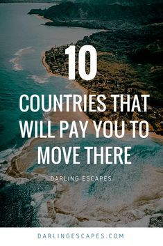 States Nowadays, it's easier to pack your bags and start a new life abroad than ever. And what makes this fact even sweeter is that there are some pretty cool countries that will actually pay you to move there! Travel Jobs, Travel Advice, Travel Guides, Travel Hacks, Travel Careers, Travel Abroad, Travel Packing, Solo Travel, Packing Tips
