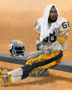 R.I.P. LC Greenwood Pittsburgh Steelers Players 8c5d477f1