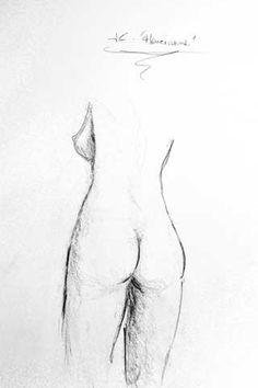 Henrianne (Atelier Artmedium - Janvier 2014) - Dessin de JC Debray