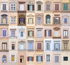 Slow Art Day — Giuseppe Lo Schiavo, New Facade: London, Rome,... gevel diversiteit collage
