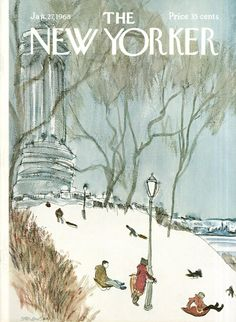 The New Yorker - Saturday, January 27, 1968 - Issue # 2241 - Vol. 43 - N° 49 - Cover by : James Stevenson