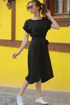 Videos Online, Cold Shoulder Dress, Popular, Summer Dresses, Black, Tops, Online Shopping, Fashion, Moda