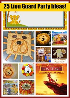 The Lion Guard party ideas! We love this new Disney show. An entertainment post from Seattle area family lifestyle blog Long Wait For Isabella.