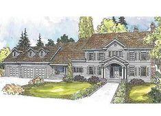 Plan 72465DA: Southern Colonial Estate