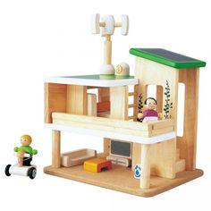 I love Plan Toys! [Rubberwood Eco Home play set]