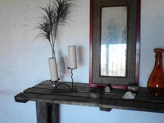 DIY Recycled Pallets Dressing Table