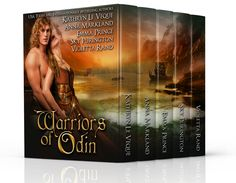 New Viking Romance Boxed Set! Check out Warriors of Odin. FREE in Kindle Unlimited! Authors include Kathryn Le Veque, Anna Markland, Emma Prince and Violetta Rand and Sky Purington. #vikingromance #kindleunlimited