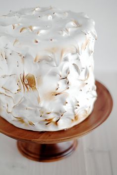 Lemon Layer Cake with 7-Minute Frosting on pickyin.blogspot.com