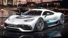 La Project One fête les 50 ans de la filiale (et ex-préparateur) AMG avec cette hypercar hybride démentielle.