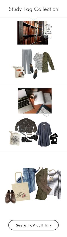 """""""Study Tag Collection"""" by anatz on Polyvore featuring Ettika, Uniqlo, Nili Lotan, Van Cleef & Arpels, OPI, Gerbe, Zara, Lydell NYC, maurices and pictures"""