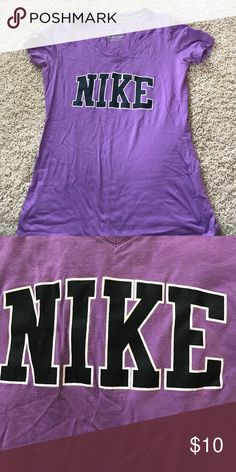 Tshirt Purple Nike tshirt Nike Tops Tees - Short Sleeve