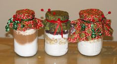 Secrets of a Southern Kitchen: Gifts from the Kitchen--3 Jar Mixes