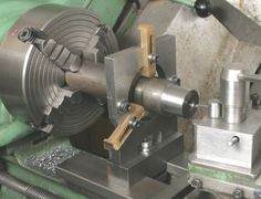 Machining the 10° Tapered Bore
