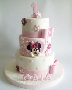 Minnie cake - Cake by mariana frascella