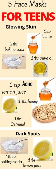 Homemade Face Mask For Teens