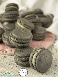 Meringue, Macarons, Food And Drink, Cookies, Cake, Poppy, Heaven, Food Cakes, Merengue