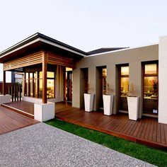 Orbit Homes Oasis 33 - Daintree Facade (Rear Loaded Garage Option).