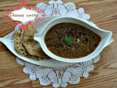 Full protein channa curry with peanuts.Goes with rice,roti,parathas
