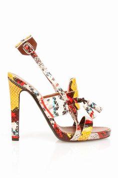 Stunning Women Shoes, Shoes Addict, Beautiful High Heels  Proenza Schouler  Tassel High Heel Sandals