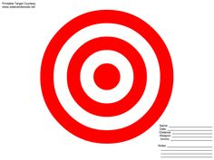 8X11 Printable Targets | Powerpoint Animation Clip Art Target You Wish To Print Wallpaper with ...