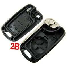 Modified Flip Remote Key Shell 2 Button For Hyundai Verna 5pcslot