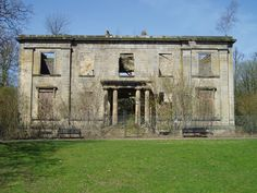 The ruins of Plean House by Kevin Rae, via Geograph Abandoned Property, Mount Rushmore, England, Fire, Mountains, Stirling Scotland, History, Architecture, Building