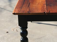 Vermont Farm Table - I want this table!