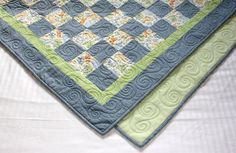 Blue Jeans & Animal Friends Quilt for Little Boys