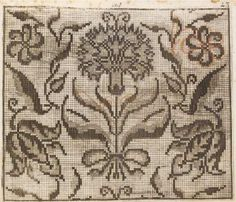 Jacobean Embroidery, Embroidery Patterns, V & A Museum, Little Books, Knit Or Crochet, Pattern Books, Models, Blackwork, Needlepoint