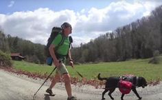 Blind Hiker Treks Nearly 6,000 Miles With His Guide Dog | Care2 Causes..http://www.care2.com/causes/blind-hiker-treks-nearly-6000-miles-with-his-guide-dog.html