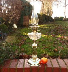 The History Of Vintage Oil Lamps Antique Oil Lamps, Antique Lighting, Vintage Lamps, Unique Lamps, Fountain, Lanterns, Fonts, Victorian, English