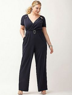 5afa0ace9ad NEW LANE BRYANT 6TH  amp  LANE WOMENS PLUS SIZE BLUE CUT OUT JUMPSUIT  ROMPER 20