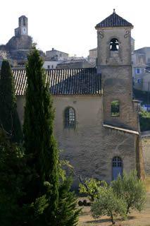 Lourmarin, village du Luberon - Lourmarin en Provence - Eglise