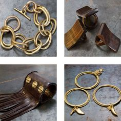 Adele Dejak's jewelry. An amazing Kenyan designer, easy to wear and one of a kind pieces!
