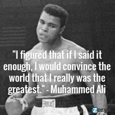 How to be the greatest?