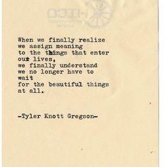 Typewriter Series #2148 by Tyler Knott Gregson . #tylerknott #love #haiku #wanderlust #poetry #photooftheday #typewriterseries #follow…