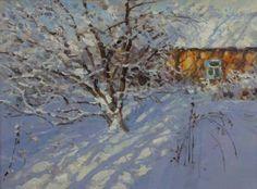 Winter yard Winter Landscape, Mountain Landscape, Color Studies, Is 11, Artist Painting, Impressionism, Oil On Canvas, Saatchi Art, Original Paintings