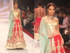 SVA# latest trends# pastels and nude with bright red! Lehenga Wedding, Indian Bridal Lehenga, Bridal Lenghas, Punjabi Wedding, Simple Wedding Gowns, New Wedding Dresses, Wedding Ideas, Wedding Stuff, Wedding Photos