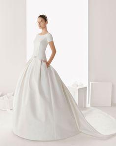 Rosa Clara Hochzeitskleid