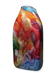 Beautiful hand blown vase by Randi Solin.